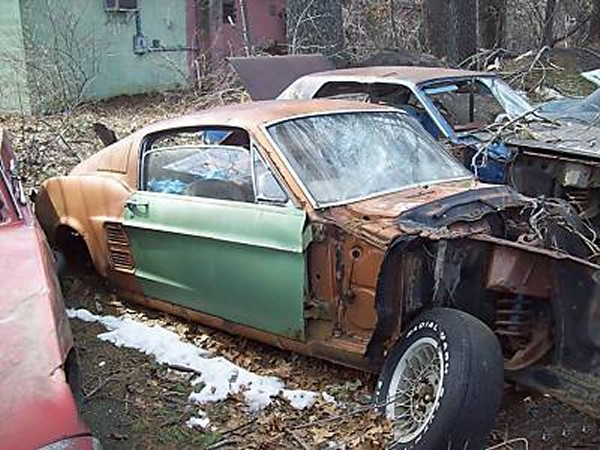 1969 Mustang For Sale Craigslist >> Rusting Mustangs