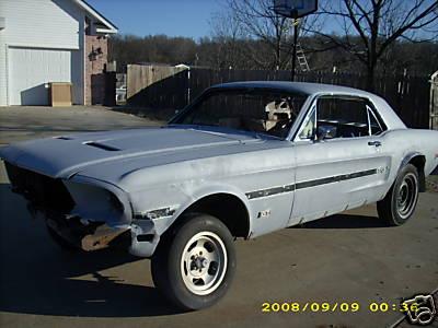 1968 Mustang 390 2