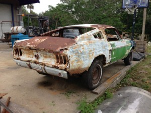 1967 Mustang Fastback Rusted04