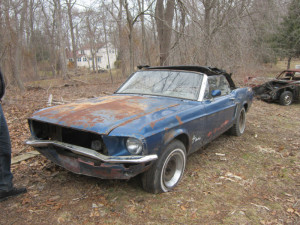 1968 Mustang Convertible 1